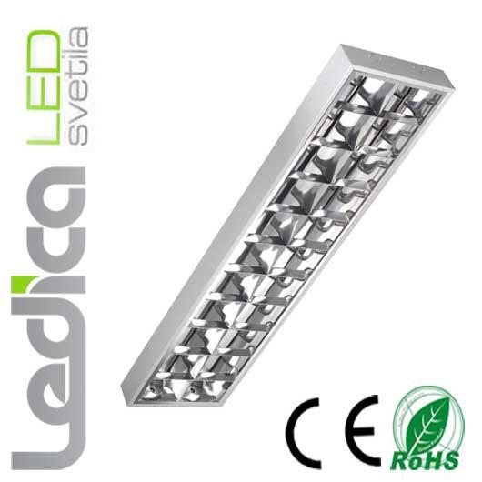 2x T8 luč 120cm nadometna