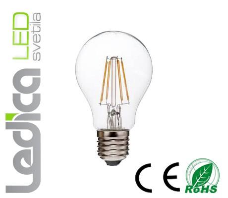 Led žarnica filament 6W E27