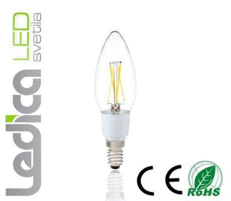 Led filament  E14 4W