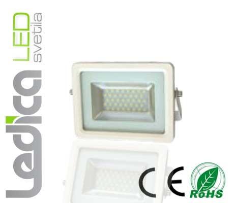 20W led reflektor IP65 beli