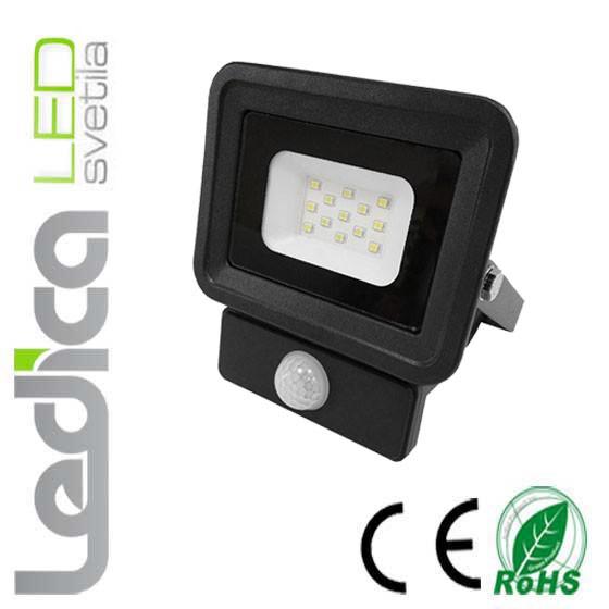 Led reflektor s senzorjem 20W ČRNI