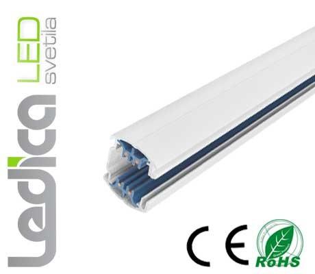 2M profil za razsvetljavo 3-fazni beli