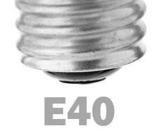LED žarnica podnožje E40