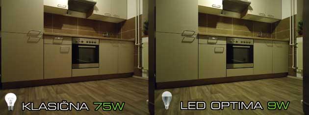 Primerjava žarnic led vs klasična
